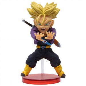Banpresto Dragon Ball Legends Collab World Collectable Figure Vol 1 - 04 Super Saiyan Trunks (purple)