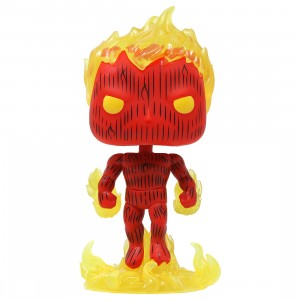 Funko POP Marvel Fantastic Four Human Torch (red)