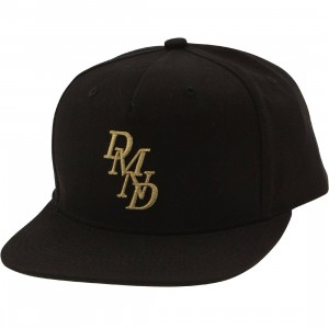Diamond Supply Co Serif Snapback Cap (black)