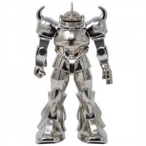 Bandai Absolute Chogokin Mobile Suit Gundam GM-04 Gouf Figure (silver)
