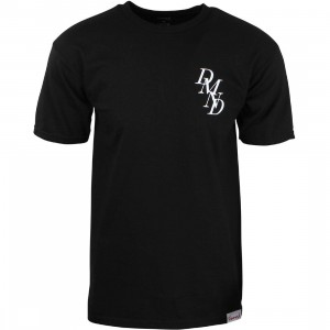 Diamond Supply Co Men Serif Chest Tee (black)