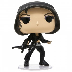 Funko POP Heroes Birds Of Prey Huntress With Collectible Card - Entertainment Earth Exclusive (black)