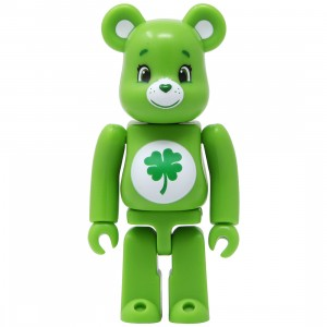 Medicom Care Bears Good Luck Bear 100% Bearbrick Figure (green)