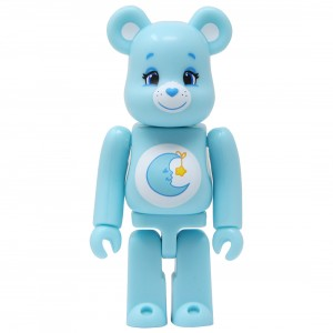 Medicom Care Bears Bedtime Bear 100% Bearbrick Figure (blue)