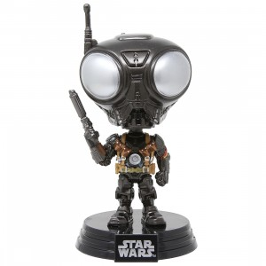 Funko POP Star Wars The Mandalorian - Q9-Zero (gray)