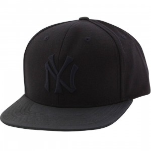 American Needle MLB New York Yankees Snapback Cap - Tonalism (gray / dark navy)