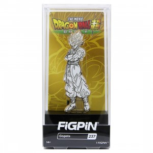 FiGPiN Dragon Ball Super Broly Movie Gogeta #237 (gold / white)