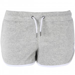 Poler Women Cabana Terry Shorts (gray / heather)