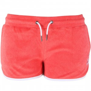 Poler Women Cabana Terry Shorts (red / salsa)