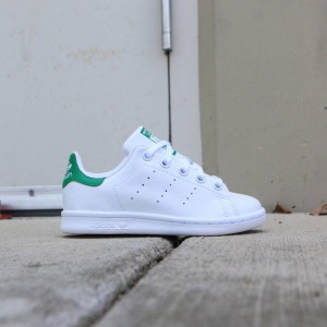 Adidas Little Kids Stan Smith EL C (white / ftwwht)