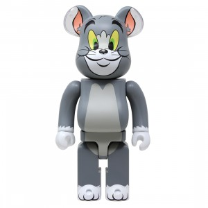 Medicom Tom and Jerry - Tom 400% Bearbrick Figure (gray)