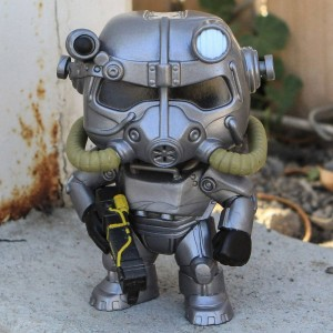 Funko POP Games Fallout - Power Armor (gray)