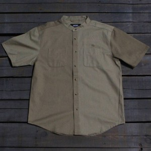 10 Deep Men Ying Yang Split Shirt (khaki)