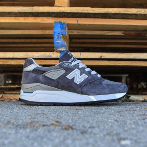 New Balance Women 998 W998CH - Made In USA (gray / charcoal)