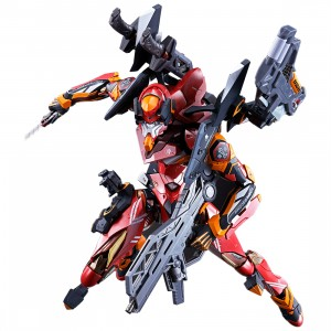 Bandai Metal Build Evangelion EVA-02 Production Model (red)
