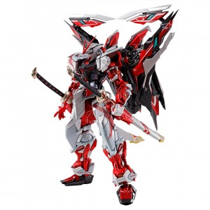 Bandai Metal Build Gundam Astray Redframe Kai Alternative Strike Ver. Figure (white)