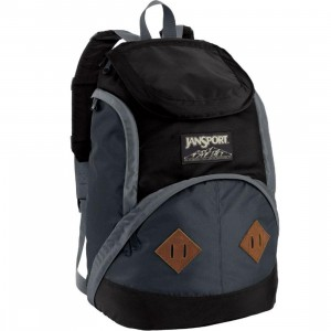 JanSport Wheeler Backpack (grey tar / forge grey)