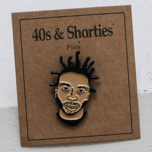 40s and Shorties ODB Pin (black)