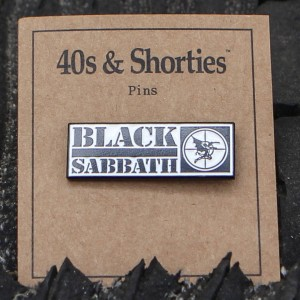 40s and Shorties Sabbath Pin (black)