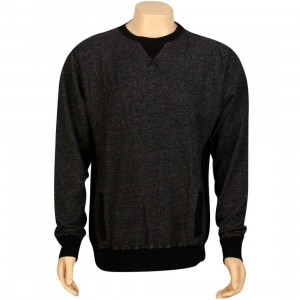 JSLV Classic Fleece Crewneck (black)