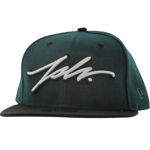 JSLV Signature New York New Era Fitted Cap (green)