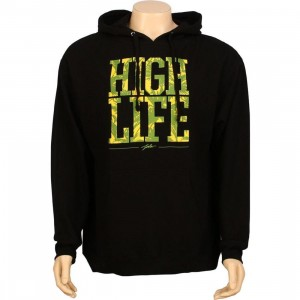 JSLV High Life Pullover Hoody (black)
