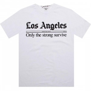 JSLV Times Tee (white)