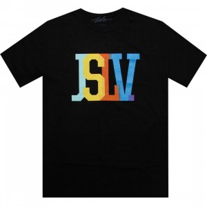 JSLV Issue Standard Overlay Tee (black)