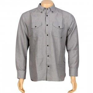 JSLV Late Night Woven Long Sleeve Shirt (black)