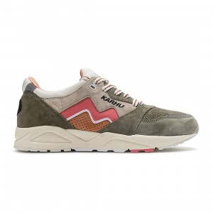 Karhu Men Aria 95 (green / vetiver / tea rose)