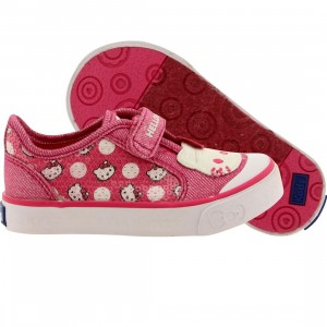 Keds x Hello Kitty Toddlers Glittery Kitty Pink Dot (pink)