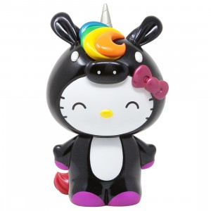 Kidrobot Sanrio Hello Kitty Unicorn 8 Inch Art Figure (black)
