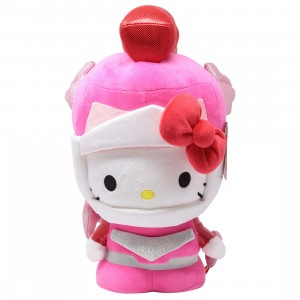 Kidrobot x Sanrio Hello Kitty Cosplay Kaiju Mechazoar Sakura Plush (pink)
