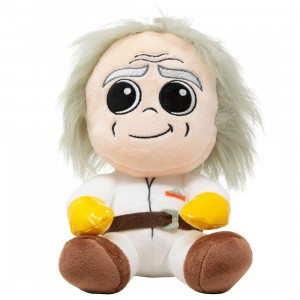 Kidrobot Back To The Future Doc Brown Phunny Plush (white)