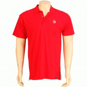 Kidrobot Classic Robot Head Polo (red)