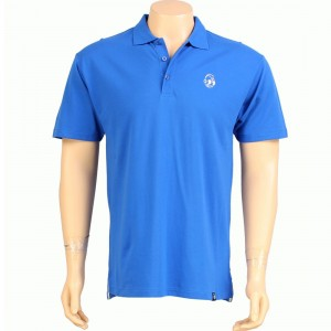 Kidrobot Classic Robot Head Polo (royal blue)