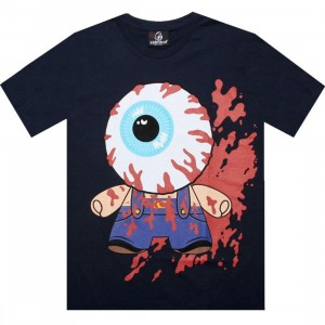 Kidrobot Mishka Bloody Eye Tee (navy)