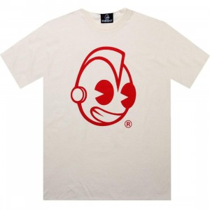 Kidrobot Head Tee (natural)