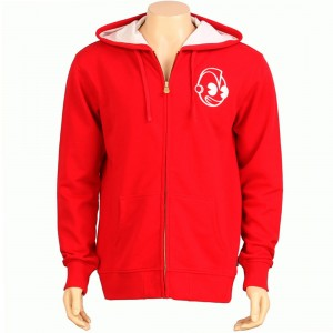 Kidrobot Kidcalligraphy Zip Up Hoody (red)