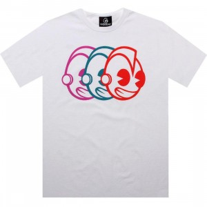Kidrobot Robot Head Illusions Tee (white)
