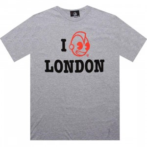 Kidrobot Robot London Tee (heather grey)