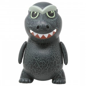 Kidrobot Godzilla 1954 GID Crackle 8 Inch Art Figure (gray)