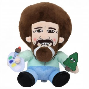 Kidrobot Bob Ross Phunny Plush (brown)