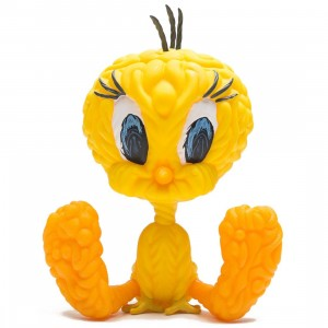 Kidrobot x Mark Dean Veca Looney Tunes Tweety Bird 8 Inch Medium Art Figure (yellow)