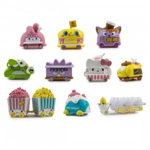 Kidrobot Hello Sanrio Micro Vehicle Series 1.5 inches Blind Box (1 Blind box)