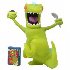 Kidrobot Nickelodeon Rugrats Reptar Art Toy Figure (green)