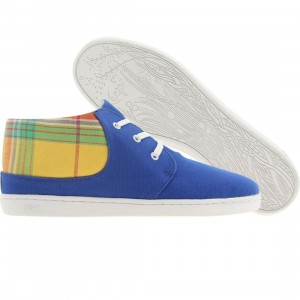 Keep Womens Ramos (royal blue / marigold plaid)