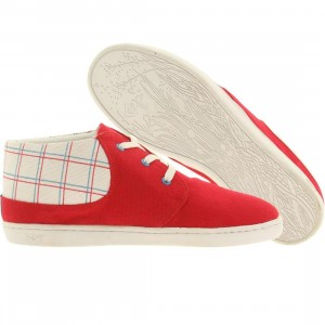 Keep Womens Ramos (red / blue / spring plaid)