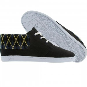 Keep Womens Ramos (black / white / blue argyle)