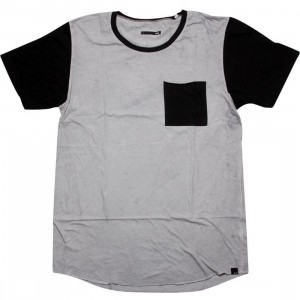 KR3W Terrell Tee (white / grey / black)